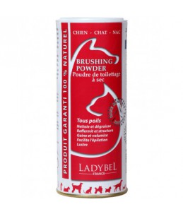 Ladybel - Brushing Powder 250 g - Shampooing et conditionneur à sec