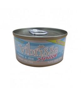 Vibrisse Kitten Mousse - Thon avec aloé - Boîte de 70 g