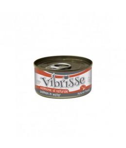 Vibrisse Cat - Saumon au naturel - Boîte de 70 g