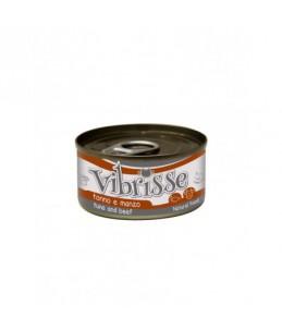 Vibrisse Cat - Thon et boeuf - Boîte de 70 g
