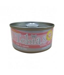 Tobias Dog Menu - Poulet et agneau - Boîte de 85 g