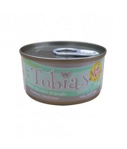 Tobias Dog Menu - Thon avec oeuf de caille - Boîte de 85 g