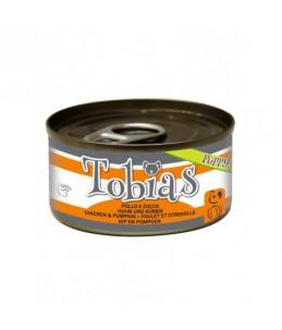 Tobias Puppy - Poulet et citrouille - Boîte de 85 g