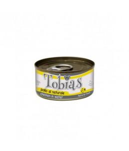 Tobias Dog - Poulet au naturel - Boîte de 85 g