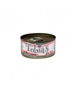Tobias Dog - Poulet et agneau - Boîte de 85 g