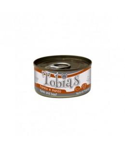 Tobias Dog - Thon et boeuf - Boîte de 85 g
