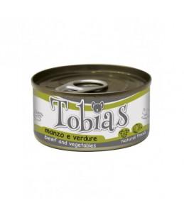 Tobias Dog - Boeuf et légumes - Boîte de 85 g