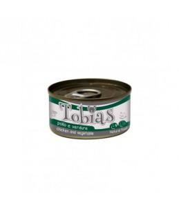 Tobias Dog - Poulet et légumes - Boîte de 170 g