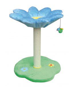 Arbre à chat - Daisy Flowers - Bleu