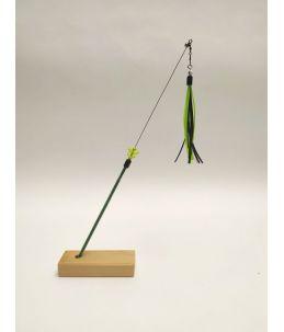 TeaZ'r Small - Ribbon - Green-Black