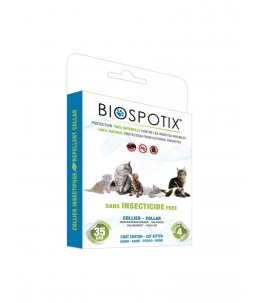 Biospotix - Collier insectifuge - Chats et chatons
