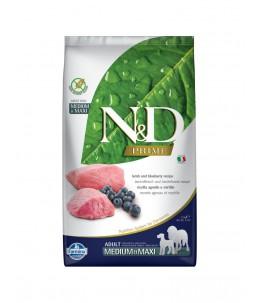 Farmina N&D Prime - Canine Adult Medium/Maxi Agneau & Myrtille - Sac 2.5 kg