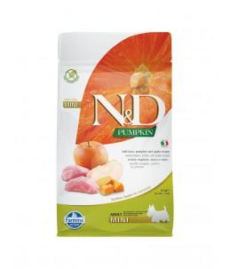 Farmina N&D Pumpkin - Canine Adult Mini Sanglier, Potiron & Pomme - Sac 800 g