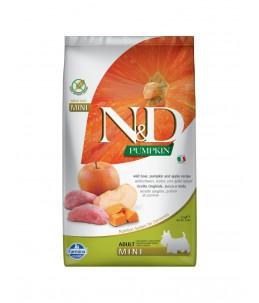 Farmina N&D Pumpkin - Canine Adult Mini Sanglier, Potiron & Pomme - Sac 2.5 kg