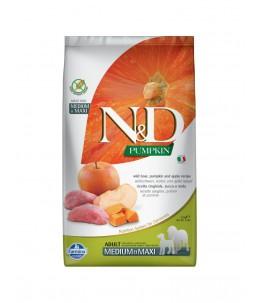 Farmina N&D Pumpkin - Canine Adult Medium/Maxi Sanglier, Potiron & Pomme - Sac 2.5 kg