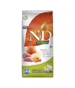 Farmina N&D Pumpkin - Canine Adult Medium/Maxi Sanglier, Potiron & Pomme - Sac 12 kg