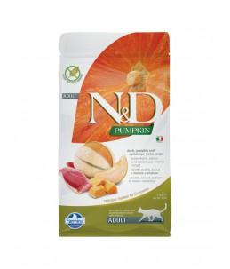 Farmina N&D Pumpkin - Feline Adult Canard, Potiron & Melon - Sac 1.5 kg