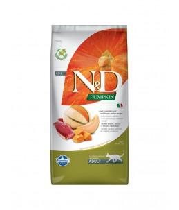 Farmina N&D Pumpkin - Feline Adult Canard, Potiron & Melon - Sac 5 kg