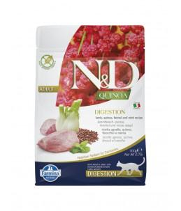 Farmina N&D Quinoa - Feline Digestion Agneau & Fenouil - Sac 300 g