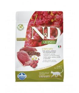 Farmina N&D Quinoa - Feline Urinary Canard & Canneberge - Sac 300 g