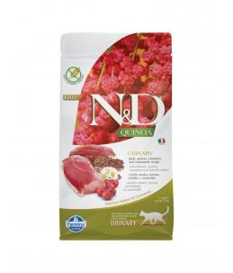 Farmina N&D Quinoa - Feline Urinary Canard & Canneberge - Sac 1.5 kg