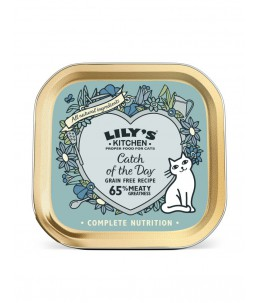 Lily's Kitchen - Feline Adult Catch of the Day - Boîte 85 g