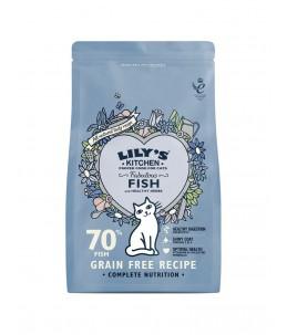 Lily's Kitchen - Feline Adult Fabulous Fish - Sac 800 g