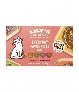Lily's Kitchen - Feline Adult Multipack - Boîte 8x85 g