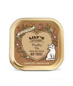 Lily's Kitchen - Feline Adult Poultry Pie - Boîte 85 g
