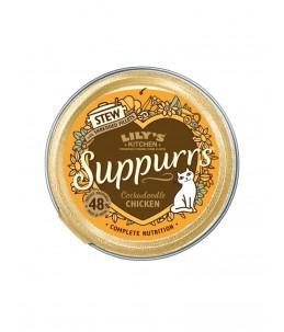Lily's Kitchen - Feline Adult Suppurrs Cockadoodle Chicken - Boîte 85 g