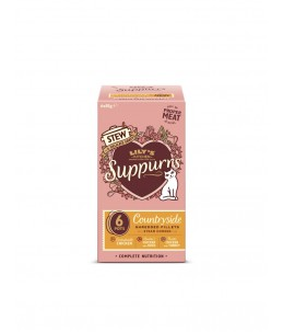 Lily's Kitchen - Feline Adult Suppurrs Countryside Multipack - Boîte 6x85 g