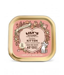Lily's Kitchen - Feline Curious Kitten Dinner - Boîte 85 g