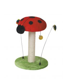Arbre à chat - Lucky Bug - Ladybug