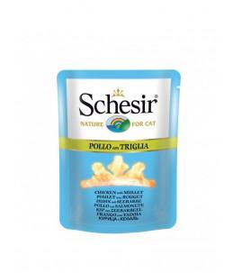Schesir Cat (Bouillon) - Poulet avec rouget - Sachet 70 g