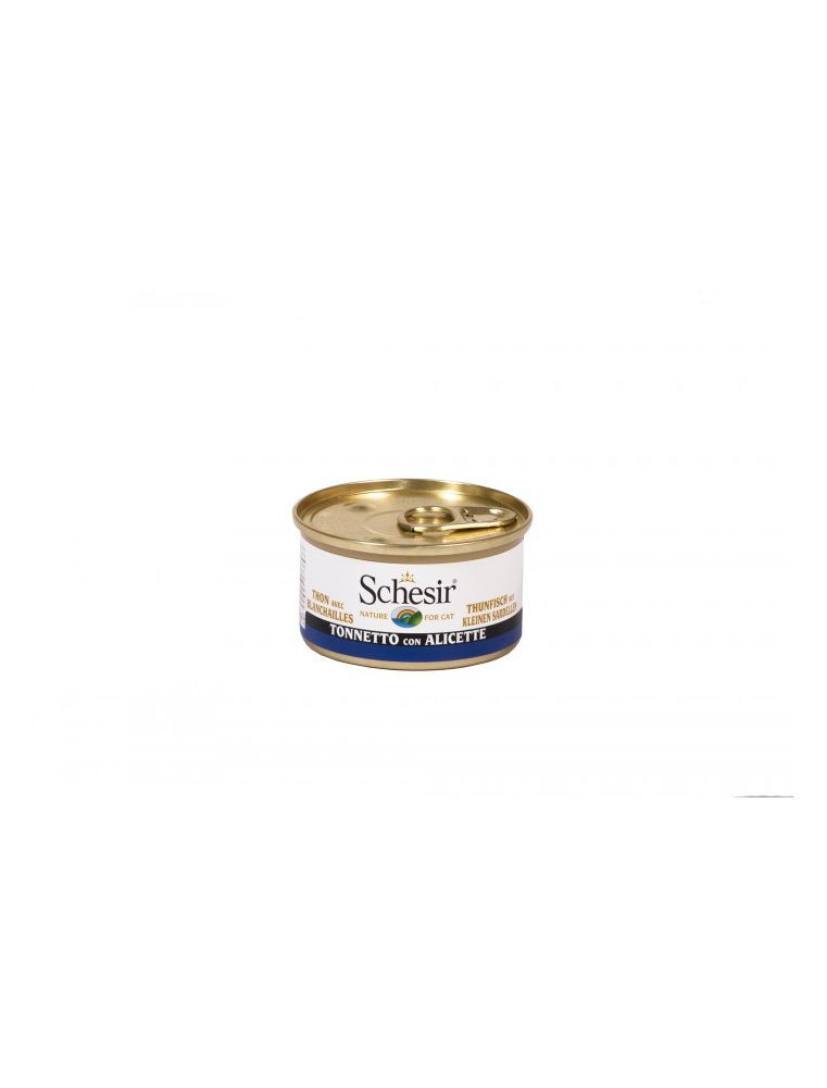 Schesir Cat (Gelée) - Thon avec blanchailles - Boîte 85 g
