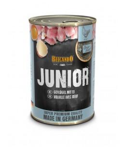 Belcando - Junior - Volaille avec œuf - Boîte 400 g