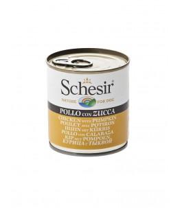 Schesir Dog (Gelée) - Poulet avec potiron - Boîte 285 g