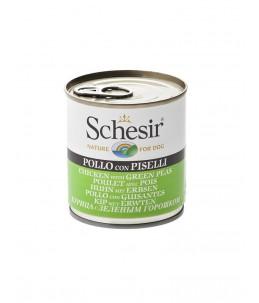 Schesir Dog (Gelée) - Poulet avec pois - Boîte 285 g