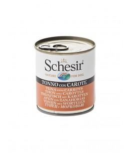 Schesir Dog (Gelée) - Thon avec carottes - Boîte 285 g