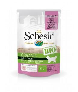 Schesir Dog (Bio Humide) - Saveur porc - Sachet 85 g