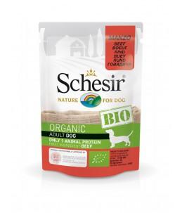 Schesir Dog (Bio Humide) - Saveur bœuf - Sachet 85 g