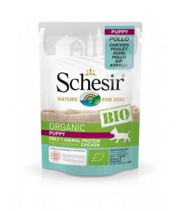 Schesir Puppy (Bio Humide) - Saveur poulet - Sachet 85 g