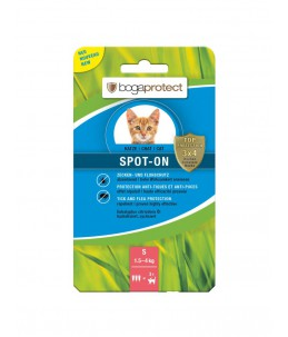 Bogar - bogaprotect® Spot-On anti-parasitaire chat S 3 x 0.7 ml