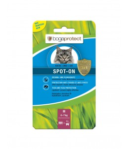 Bogar - bogaprotect® Spot-On anti-parasitaire chat M 3 x 1.2 ml