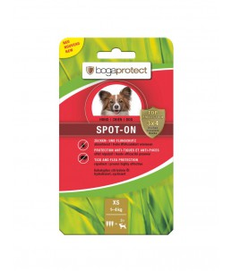 Bogar - bogaprotect® Spot-On anti-parasitaire chien XS 3 x 0.7 ml