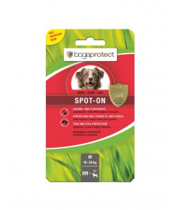 Bogar - bogaprotect® Spot-On anti-parasitaire chien M 3 x 2.2 ml