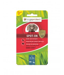 Bogar - bogaprotect® Spot-On anti-parasitaire chien L 3 x 3.2 ml