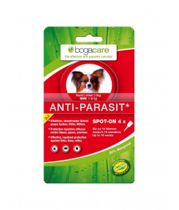Bogar - bogacare Spot-on antiparasitaire chien mini 4 x 0.75ml