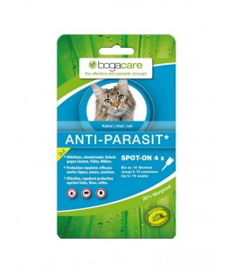 Bogar - bogacare Spot-on antiparasitaire chat 4 x 0.75ml