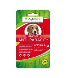 Bogar - bogacare Spot-on antiparasitaire chien medium 4 x 1.5ml